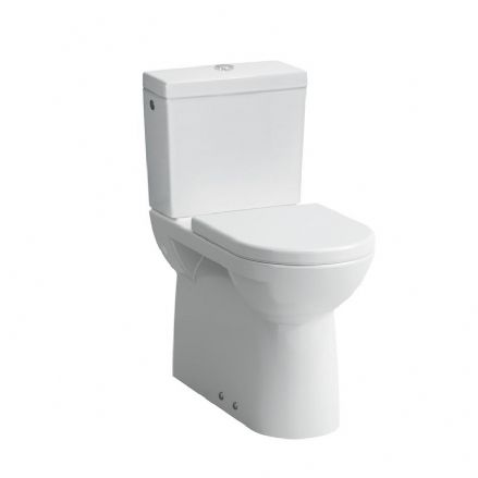 824955 - Laufen Pro Floorstanding Close Coupled Raised Height WC / Toilet - 8.2495.5